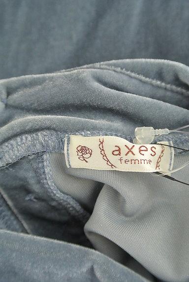 axes femme(アクシーズファム)の古着「カメオネックレス付きフリルカットソー(カットソー・プルオーバー)」大画像6へ