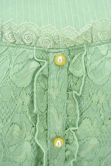 axes femme(アクシーズファム)の古着「パール+フリルレースカットソー(カットソー・プルオーバー)」大画像5へ