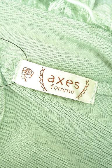 axes femme(アクシーズファム)の古着「パール+フリルレースカットソー(カットソー・プルオーバー)」大画像6へ