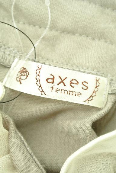 axes femme(アクシーズファム)の古着「フリルハイネック切替カットソー(カットソー・プルオーバー)」大画像6へ