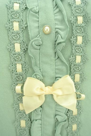 axes femme(アクシーズファム)の古着「リボン付きガーリーカットソー(カットソー・プルオーバー)」大画像5へ