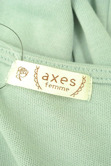 axes femme(アクシーズファム)の古着「リボン付きガーリーカットソー(カットソー・プルオーバー)」大画像6へ