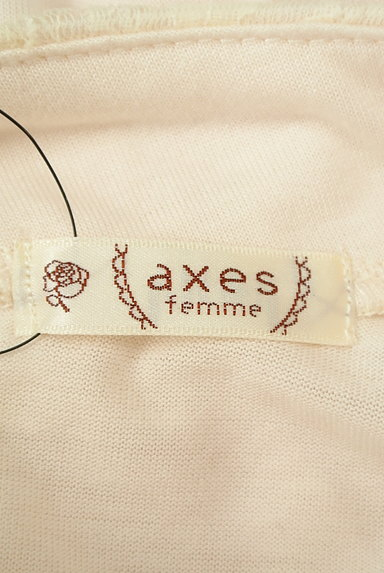 axes femme(アクシーズファム)の古着「シアーレース切替ハイネックカットソー(カットソー・プルオーバー)」大画像6へ
