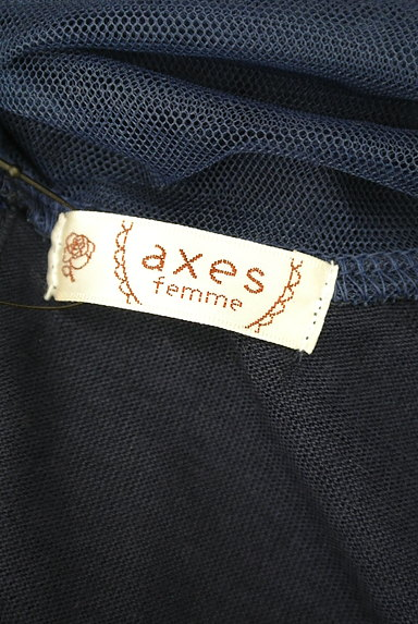 axes femme(アクシーズファム)の古着「バックリボンのレースカットソー(カットソー・プルオーバー)」大画像6へ