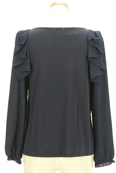 axes femme(アクシーズファム)の古着「肩フリルタックカットソー(カットソー・プルオーバー)」大画像2へ