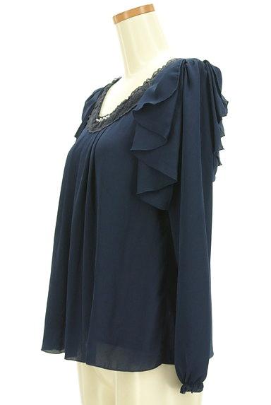 axes femme(アクシーズファム)の古着「肩フリルタックカットソー(カットソー・プルオーバー)」大画像3へ