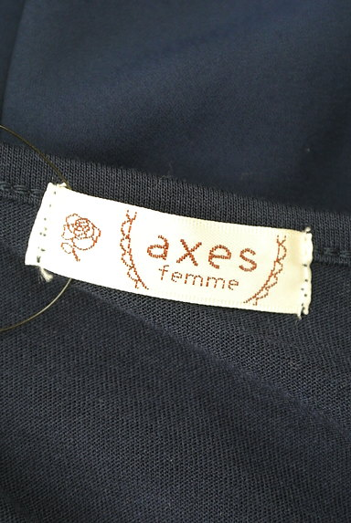 axes femme(アクシーズファム)の古着「肩フリルタックカットソー(カットソー・プルオーバー)」大画像6へ