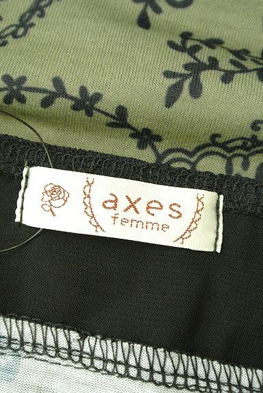 axes femme(アクシーズファム)の古着「レースフリル切替プリントカットソー(キャミソール・タンクトップ)」大画像6へ
