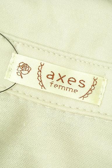 axes femme(アクシーズファム)の古着「バックストライプ裾タックカットソー(カットソー・プルオーバー)」大画像6へ