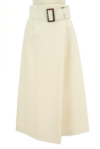 Pinky&Dianne(ピンキー&ダイアン)の古着「Aラインタックフレアロングスカート(ロングスカート・マキシスカート)」大画像1へ