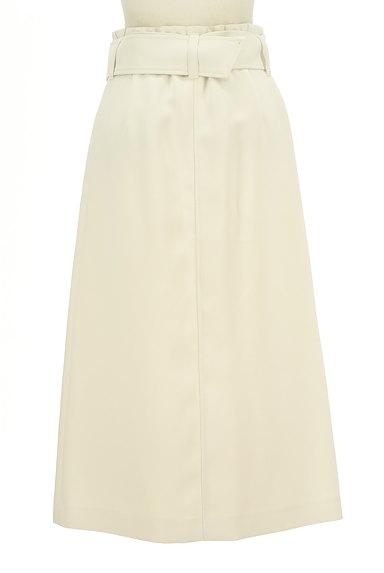 Pinky&Dianne(ピンキー&ダイアン)の古着「Aラインタックフレアロングスカート(ロングスカート・マキシスカート)」大画像2へ