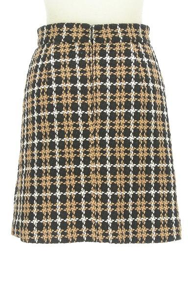 Rirandture(リランドチュール)の古着「チェック柄ラップ風ミニスカート(ミニスカート)」大画像2へ