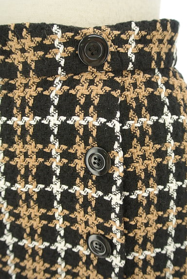 Rirandture(リランドチュール)の古着「チェック柄ラップ風ミニスカート(ミニスカート)」大画像4へ