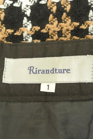 Rirandture(リランドチュール)の古着「チェック柄ラップ風ミニスカート(ミニスカート)」大画像6へ