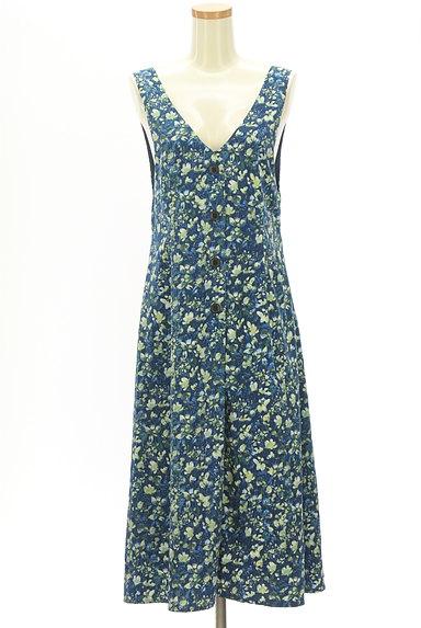 Rirandture(リランドチュール)の古着「2WAY花柄ロングワンピース(キャミワンピース)」大画像1へ