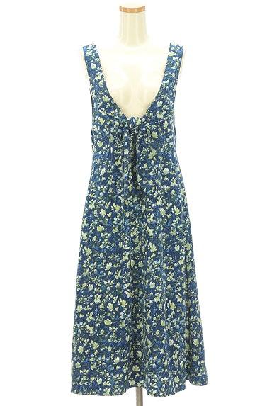 Rirandture(リランドチュール)の古着「2WAY花柄ロングワンピース(キャミワンピース)」大画像4へ