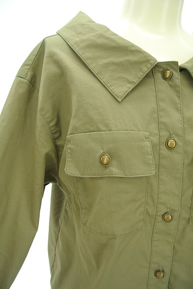 Rirandture(リランドチュール)の古着「レースアップ抜け襟シャツ(カジュアルシャツ)」大画像4へ