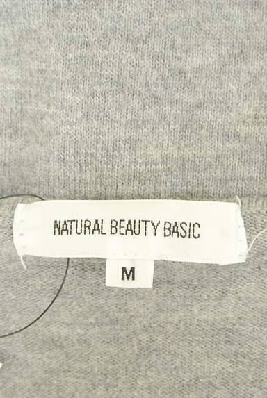 NATURAL BEAUTY BASIC(ナチュラルビューティベーシック)の古着「刺繍レース付きニット(ニット)」大画像6へ
