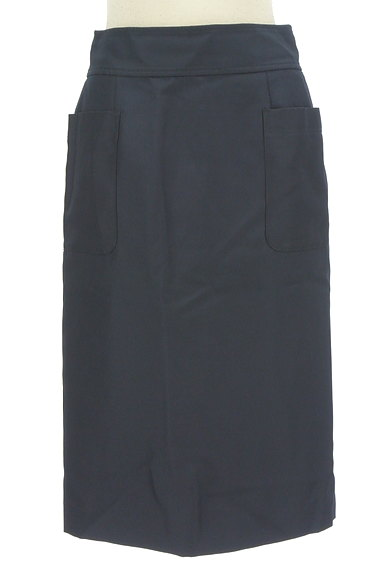 NATURAL BEAUTY BASIC(ナチュラルビューティベーシック)の古着「サイドポケット膝下丈タイトスカート(スカート)」大画像1へ