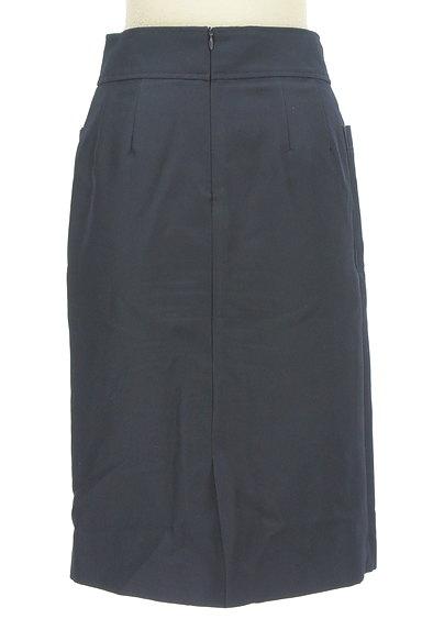 NATURAL BEAUTY BASIC(ナチュラルビューティベーシック)の古着「サイドポケット膝下丈タイトスカート(スカート)」大画像2へ