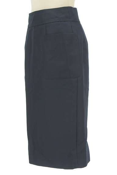 NATURAL BEAUTY BASIC(ナチュラルビューティベーシック)の古着「サイドポケット膝下丈タイトスカート(スカート)」大画像3へ
