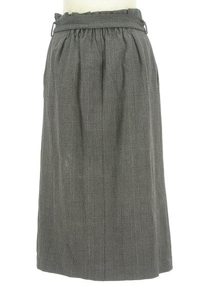 BEAUTY&YOUTH(ビューティ&ユース)の古着「ウエストリボンミモレ丈前スリットスカート(ロングスカート・マキシスカート)」大画像2へ