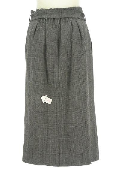 BEAUTY&YOUTH(ビューティ&ユース)の古着「ウエストリボンミモレ丈前スリットスカート(ロングスカート・マキシスカート)」大画像4へ