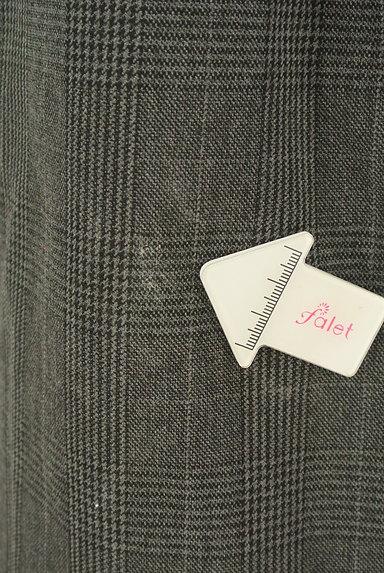 BEAUTY&YOUTH(ビューティ&ユース)の古着「ウエストリボンミモレ丈前スリットスカート(ロングスカート・マキシスカート)」大画像5へ