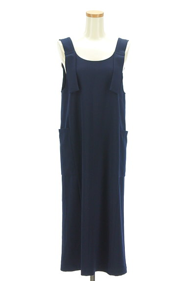 BEAMS Women's(ビームス ウーマン)の古着「ミモレ丈サロペットスカート(オーバーオール・サロペット)」大画像1へ