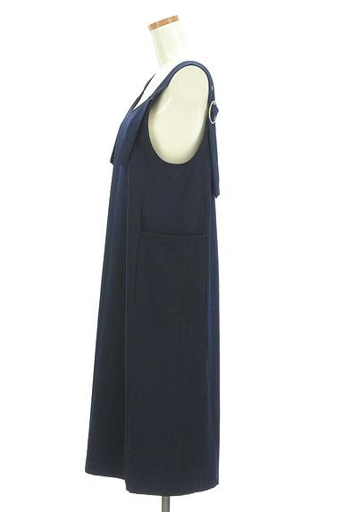 BEAMS Women's(ビームス ウーマン)の古着「ミモレ丈サロペットスカート(オーバーオール・サロペット)」大画像3へ