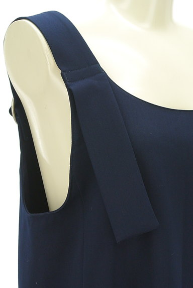 BEAMS Women's(ビームス ウーマン)の古着「ミモレ丈サロペットスカート(オーバーオール・サロペット)」大画像4へ