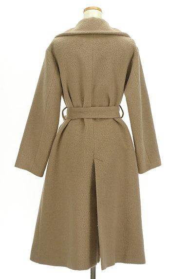 MERCURYDUO(マーキュリーデュオ)の古着「ウエストリボン起毛ロングコート(コート)」大画像2へ