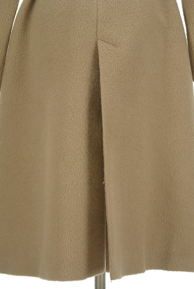 MERCURYDUO(マーキュリーデュオ)の古着「ウエストリボン起毛ロングコート(コート)」大画像5へ