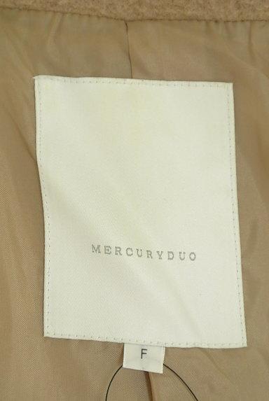 MERCURYDUO(マーキュリーデュオ)の古着「ウエストリボン起毛ロングコート(コート)」大画像6へ
