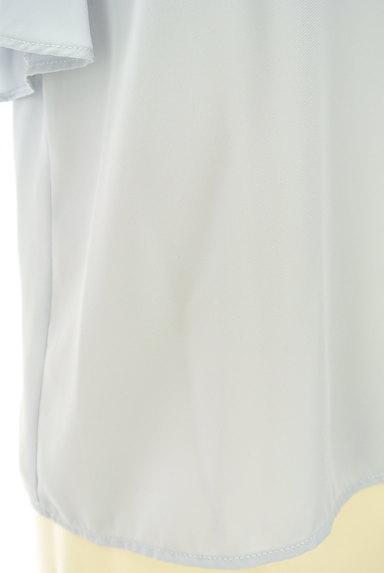 JILL by JILLSTUART(ジルバイジルスチュアート)の古着「花刺繍入りシアーブラウス(カットソー・プルオーバー)」大画像5へ