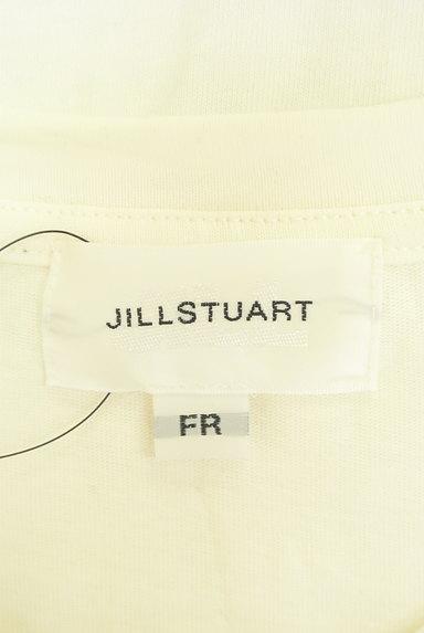JILL by JILLSTUART(ジルバイジルスチュアート)の古着「ロールアップロゴプリントTシャツ(Tシャツ)」大画像6へ