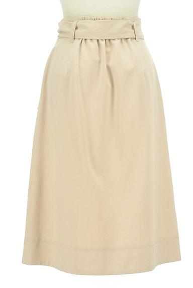 JILL by JILLSTUART(ジルバイジルスチュアート)の古着「ウエストリボン膝下丈ラップ風スカート(ロングスカート・マキシスカート)」大画像2へ