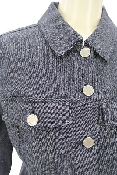 JILL by JILLSTUART(ジルバイジルスチュアート)の古着「シンプルデニムジャケット(ジャケット)」大画像4へ