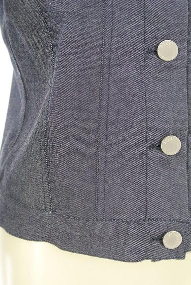 JILL by JILLSTUART(ジルバイジルスチュアート)の古着「シンプルデニムジャケット(ジャケット)」大画像5へ