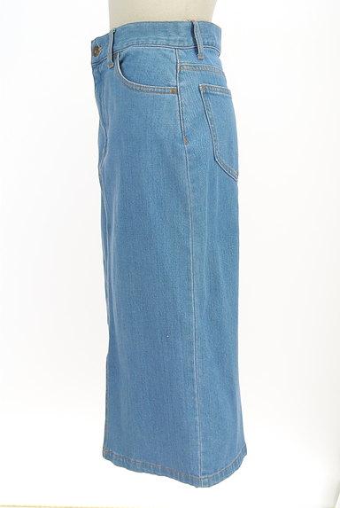 PROPORTION BODY DRESSING(プロポーションボディ ドレッシング)の古着「前スリットミモレ丈デニムスカート(スカート)」大画像3へ