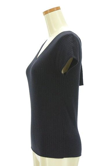 PROPORTION BODY DRESSING(プロポーションボディ ドレッシング)の古着「バックリボンフレンチスリーブニット(ニット)」大画像3へ