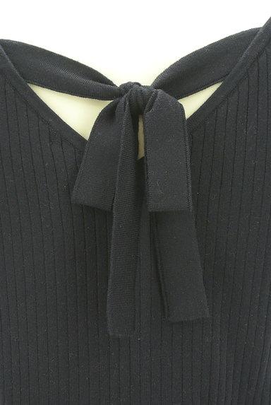PROPORTION BODY DRESSING(プロポーションボディ ドレッシング)の古着「バックリボンフレンチスリーブニット(ニット)」大画像4へ