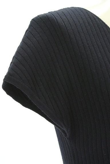 PROPORTION BODY DRESSING(プロポーションボディ ドレッシング)の古着「バックリボンフレンチスリーブニット(ニット)」大画像5へ