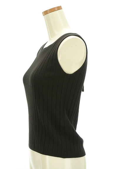 PROPORTION BODY DRESSING(プロポーションボディ ドレッシング)の古着「装飾バックリボンミドル幅リブニット(ニット)」大画像3へ