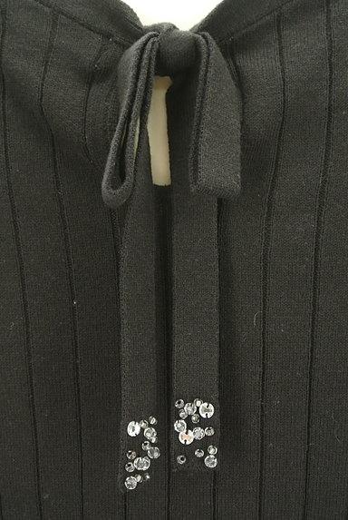 PROPORTION BODY DRESSING(プロポーションボディ ドレッシング)の古着「装飾バックリボンミドル幅リブニット(ニット)」大画像4へ