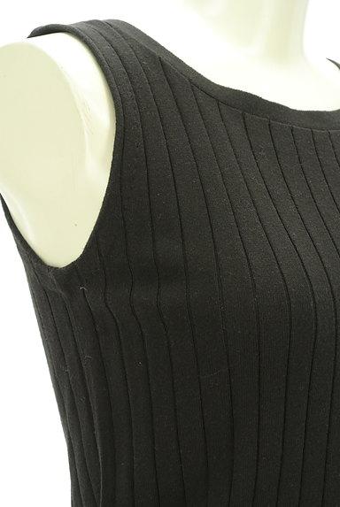 PROPORTION BODY DRESSING(プロポーションボディ ドレッシング)の古着「装飾バックリボンミドル幅リブニット(ニット)」大画像5へ