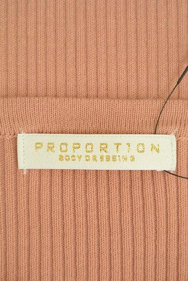 PROPORTION BODY DRESSING(プロポーションボディ ドレッシング)の古着「スカラップラグラン五分袖リブニット(ニット)」大画像6へ