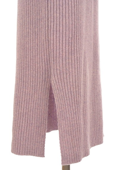 PROPORTION BODY DRESSING(プロポーションボディ ドレッシング)の古着「ミモレ丈ラメニットワンピース(ワンピース・チュニック)」大画像5へ