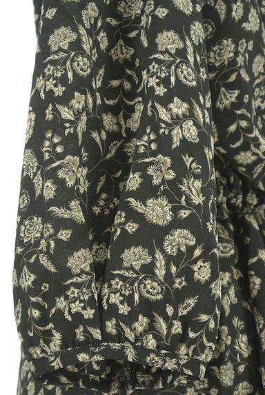 MAYSON GREY(メイソングレイ)の古着「花柄シフォンミモレ丈ワンピース(ワンピース・チュニック)」大画像5へ