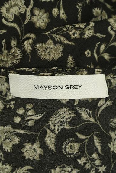 MAYSON GREY(メイソングレイ)の古着「花柄シフォンミモレ丈ワンピース(ワンピース・チュニック)」大画像6へ